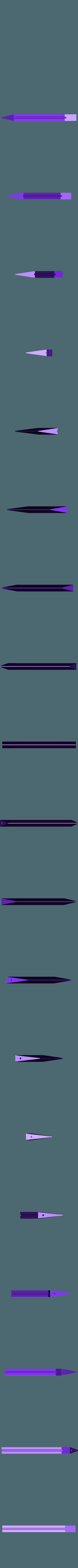 300x300x350 - Silver - Blade - Part 2.stl Download STL file Final Fantasy VII - Buster Sword - Bracelet - Shoulder pad  • 3D print model, 3Dutchie
