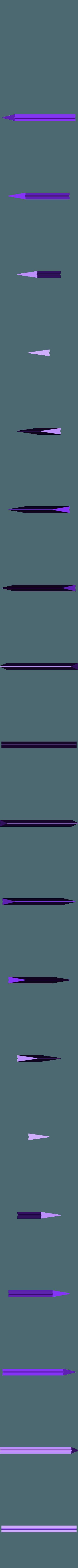 300x300x350 - Silver - Blade - Part 4.stl Download STL file Final Fantasy VII - Buster Sword - Bracelet - Shoulder pad  • 3D print model, 3Dutchie