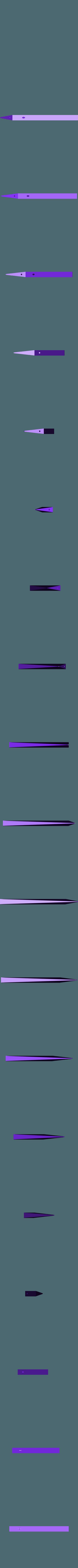 300x300x350 - Silver - Blade - Part 1.stl Download STL file Final Fantasy VII - Buster Sword - Bracelet - Shoulder pad  • 3D print model, 3Dutchie