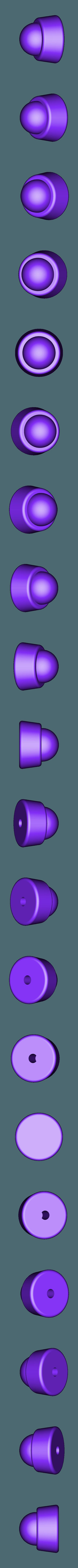 300x300x350 - Gold - Grip End (Advent Children).stl Download STL file Final Fantasy VII - Buster Sword - Bracelet - Shoulder pad  • 3D print model, 3Dutchie