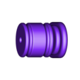 300x300x350 - Gold - Grip Start (Advent Children).stl Download STL file Final Fantasy VII - Buster Sword - Bracelet - Shoulder pad  • 3D print model, 3Dutchie