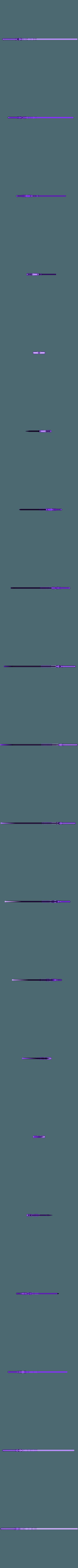 Blade - Full (Advent Children).stl Download STL file Final Fantasy VII - Buster Sword - Bracelet - Shoulder pad  • 3D print model, 3Dutchie
