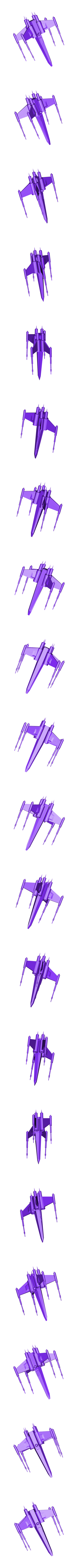 Project Name.stl Télécharger fichier STL gratuit vaisseau star wars • Plan pour impression 3D, manchot