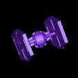 Project Name.stl Download free STL file hunter star wars • 3D printable template, manchot