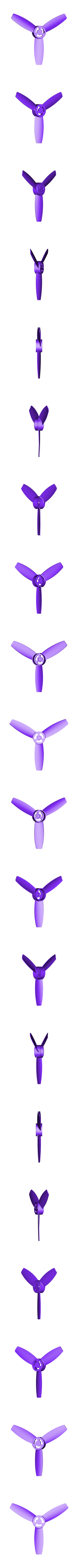 Propeller_with_hole.stl Download free STL file Replacement propellers for the Parrot Bebop • 3D print model, Alessandro_Palma