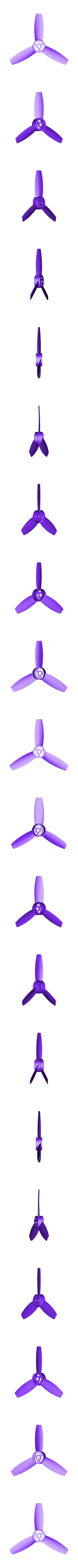 Propeller_without_hole.stl Download free STL file Replacement propellers for the Parrot Bebop • 3D print model, Alessandro_Palma