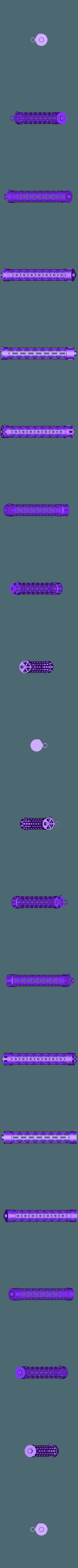 MG_Rohr.stl Download free STL file Machine Gun Spandau MG08 • 3D print object, wersy