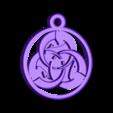 médaille_ghost_dog.stl Download free STL file Ghost Dog Medal • 3D printer design, NOP21