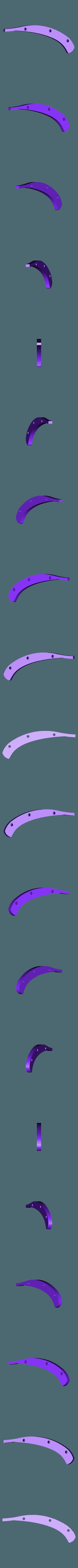 plaque_centrale.stl Download free STL file Folding Astroller knife with locking catch • 3D printer design, NOP21