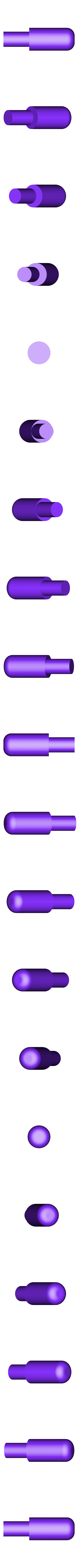axe_poussoir.stl Download free STL file Folding Astroller knife with locking catch • 3D printer design, NOP21