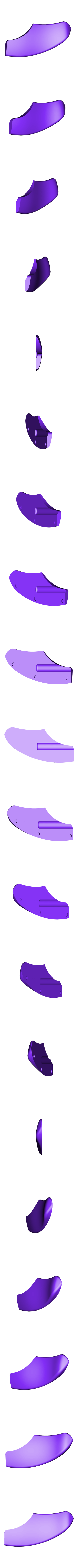 plaquette_arrière.stl Download free STL file Folding Astroller knife with locking catch • 3D printer design, NOP21