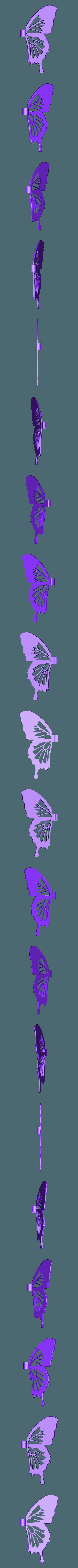 aile_droite.stl Download free STL file Blue Butterfly • 3D print design, NOP21