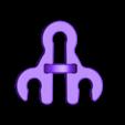 bride_haute.stl Download free STL file Three strange reversible gears • 3D printer model, NOP21