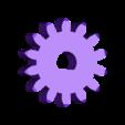 pignon_moteur.stl Download free STL file Six strange motorized gear • Model to 3D print, NOP21
