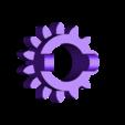 pignon_entraineur.stl Download free STL file Six strange motorized gear • Model to 3D print, NOP21