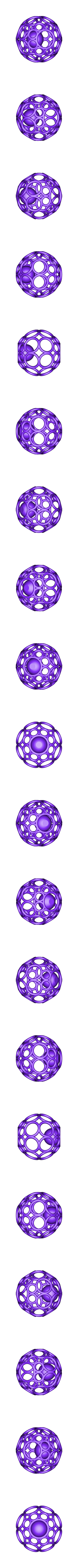 sphère_cage.stl Download free STL file Spherical cage with ball • Template to 3D print, NOP21