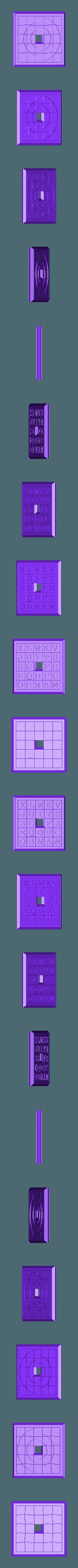 Sliding5x5Puzzle4.stl Download STL file Two Sided Sliding Puzzle • 3D printable model, Jinja
