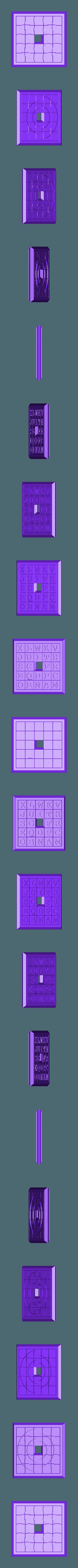 Sliding5x5Puzzle5.stl Download STL file Two Sided Sliding Puzzle • 3D printable model, Jinja
