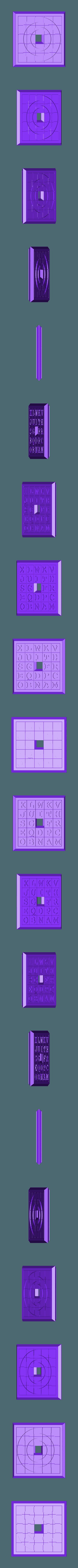 Sliding5x5Puzzle3.stl Download STL file Two Sided Sliding Puzzle • 3D printable model, Jinja