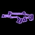scar.stl Download STL file Fortnite Cookie Cutter Set • 3D printing template, davidruizo
