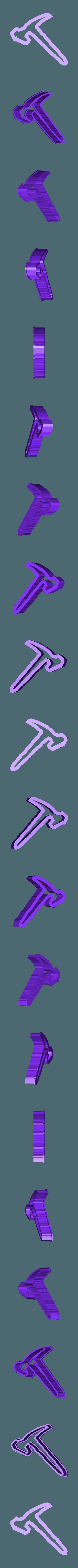 pico 1.stl Download STL file Fortnite Cookie Cutter Set • 3D printing template, davidruizo