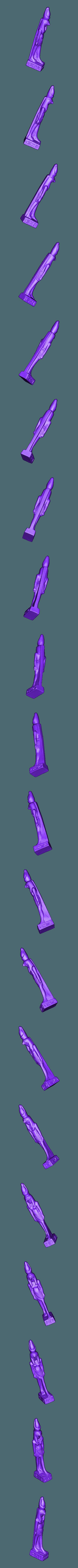 stl_a58167b1053bf3f4addb33a009384b27_2202.stl Download free STL file Ancient Egyptian Figurine of God Horus • 3D printable design, MarcoDaCunia55