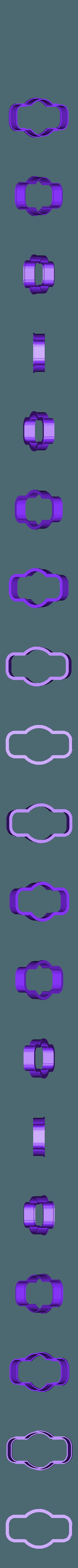 marco 6.stl Download STL file Vintage Frame cookie cutter set • 3D printer design, davidruizo