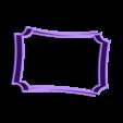 marco 1.stl Download STL file Vintage Frame cookie cutter set • 3D printer design, davidruizo