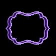 marco 2.stl Download STL file Vintage Frame cookie cutter set • 3D printer design, davidruizo