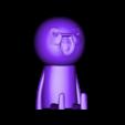 SioOmino.stl Download free STL file Un omino (a stickman) seduto • 3D print design, thePixelsChips