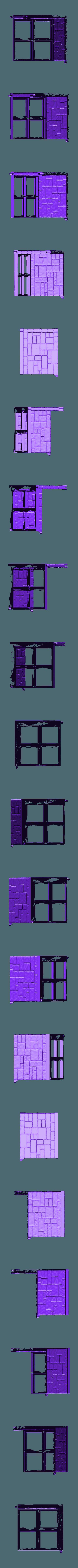 ZDungeon_Corner_A.stl Download free STL file ZDungeon (experimental dungeon tiles) • 3D printable object, Dutchmogul