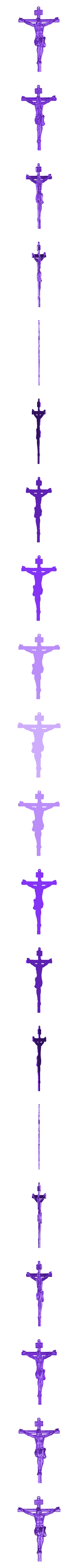 jesus_LITHOPHANE.stl Télécharger fichier STL gratuit Litophanie Jésus-Christ • Plan pour impression 3D, 3dlito