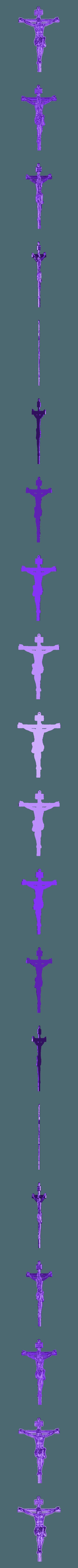 jesus_LITHOPHANE.stl Download free STL file Litophany Jesus Christ • Object to 3D print, 3dlito