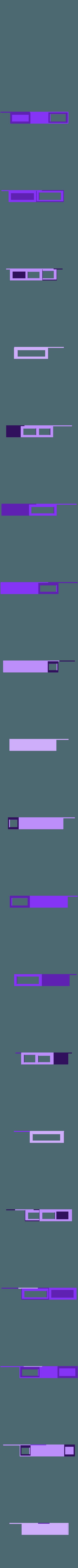 kevskyqVESA75100.stl Download STL file SKY Q MINI BEHIND TV HANGING MOUNT VESA COMPATIBLE • 3D printer template, beanieboy182