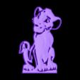 lion-Lionr.stl Download free STL file lion king pendant • Design to 3D print, albino