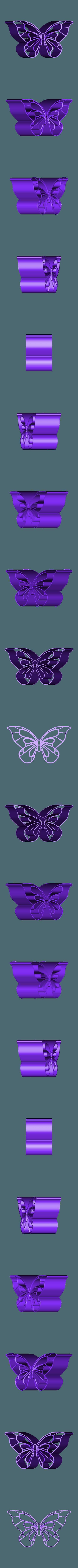 Emporte piece papillon.STL Download 3DS file Butterfly piece cutter • 3D printer design, emilie3darchitecture