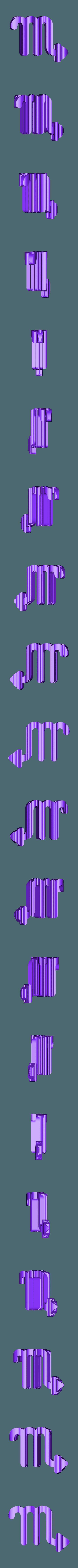 scorpion.stl Download STL file Text Flip, Scorpion • Design to 3D print, mr_printer_bot