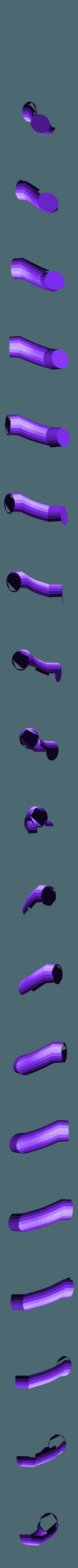 orange_leg_3_left.stl Download free STL file Wiggler from Mario games - multi-color • Template to 3D print, bpitanga
