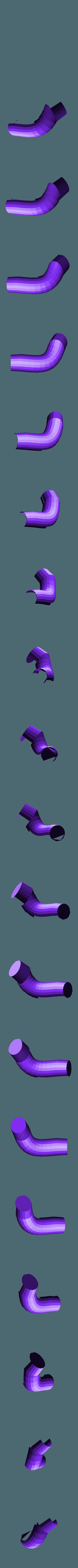 orange_leg_4_right.stl Download free STL file Wiggler from Mario games - multi-color • Template to 3D print, bpitanga