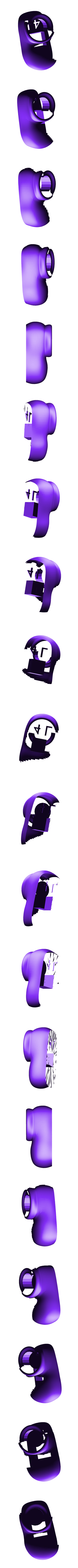 purple_shoe_4_left.stl Download free STL file Wiggler from Mario games - multi-color • Template to 3D print, bpitanga