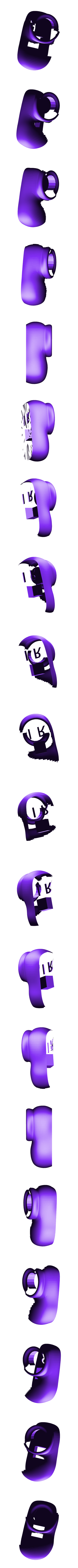 purple_shoe_1_right.stl Download free STL file Wiggler from Mario games - multi-color • Template to 3D print, bpitanga