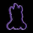 unicornio bb contorno.stl Download STL file unicorn cookie cutter unicorns • 3D print model, PatricioVazquez
