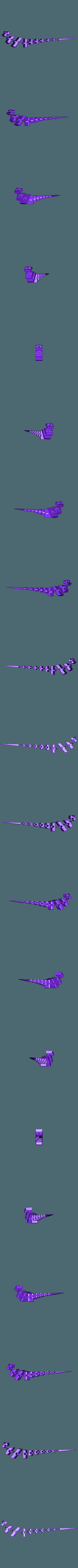 Flexi_RaptorB.stl Download free STL file Flexi Raptor (Dual Extrusion) • 3D print model, Adafruit