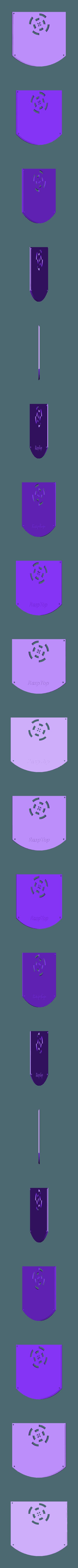 Rasptop_2.0_No_Mointor_Top.stl Download free STL file RaspTop 2.0 • Design to 3D print, EricsDIY