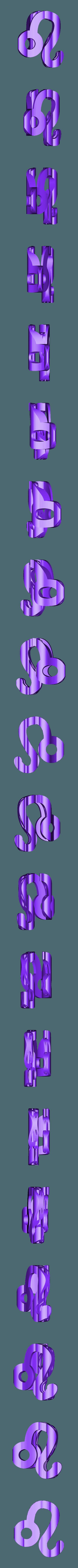leo.stl Download STL file Text Flip, Leo  • Model to 3D print, mr_printer_bot