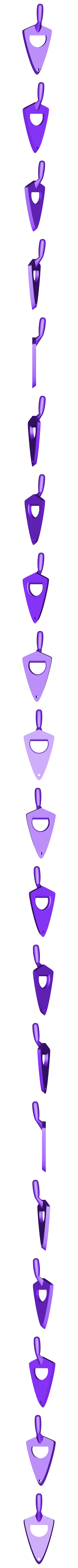 TrowelOpener-NoText.stl Download free STL file Trowel Bottle Opener • 3D printer object, DuaneIndeed