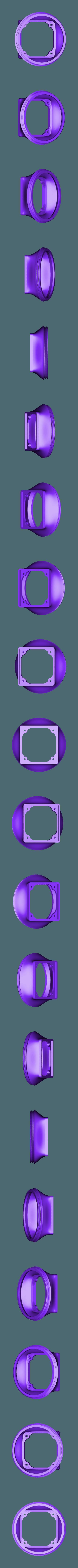 AST-CharcoalChamberToFan.stl Download free STL file HEPA Air Filter Scrubber Tower • 3D print design, DuaneIndeed