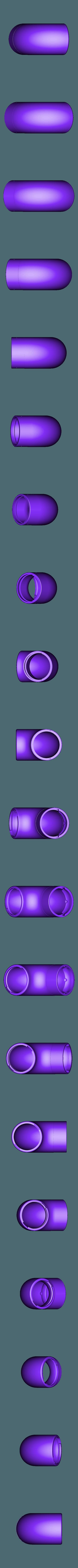 AST-ExhaustTubeLockTabs.stl Download free STL file HEPA Air Filter Scrubber Tower • 3D print design, DuaneIndeed