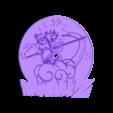 -------reloj_dragonball_Z-------.stl Download free STL file Reloj Dragon Ball Z • 3D printer object, 3dlito