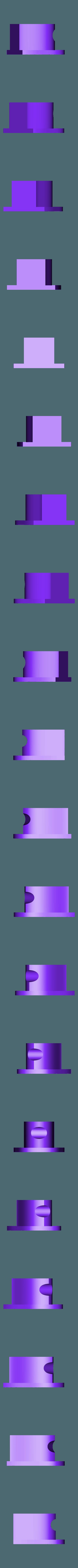 "2.stl Download free STL file ""Knobs"" for ProFab Mini Fan Shroud • 3D printing object, Domi1988"